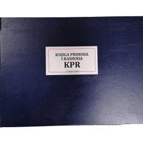 KPR - Knjiga prihoda i rashoda. Numerisana knjiga tvrdog uveza. Veliki izbor poslovnih knjiga. Online sigurna kupovina.