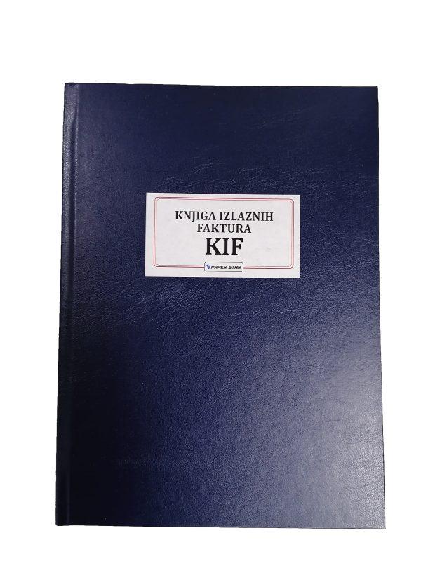 KIF - Knjiga izlaznih faktura. Numerisana knjiga tvrdog uveza. Veliki izbor poslovnih knjiga. Širok asortiman kancelarijskog materijala.